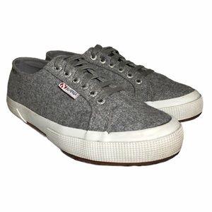 Superga Low Top Gray Sneakers